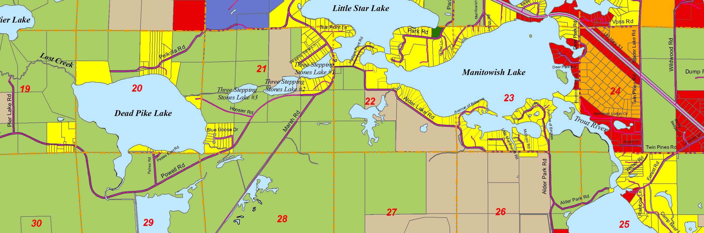 Comprehensive Plan for Land Development and Community Planning in Manitowish Waters, WI