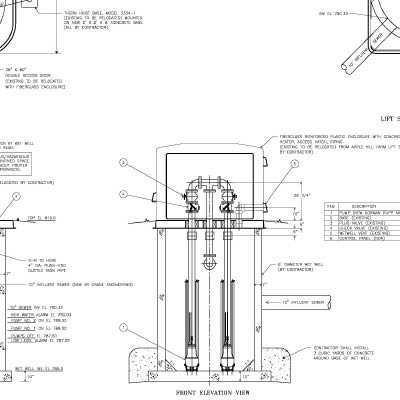 Designing Sanitary Lift Stations and other Public Works Projects