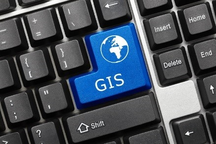 GIS Mapping Button for Public Services and Public Work Projects