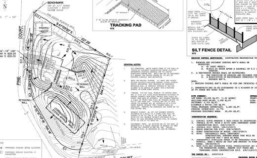 Residential and Commercial Construction Site Layout